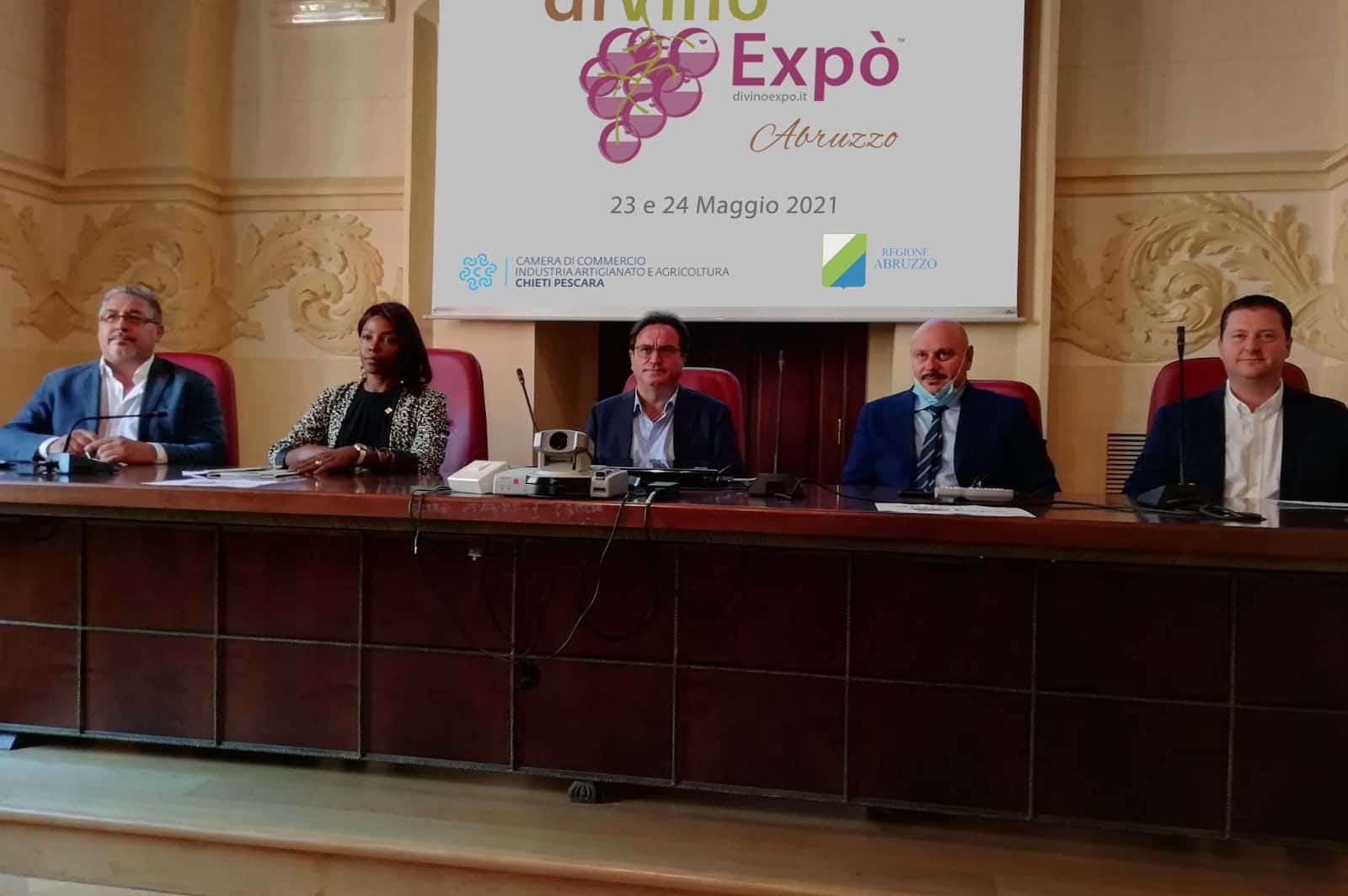 conferenza stampa Divinoexpo 2021